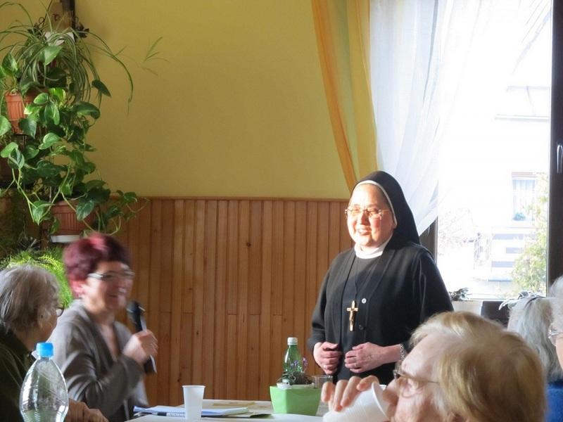 """,,Spotkanie z Gościem miesiąca"""" siostra M. Vianneya Wróblewska"""