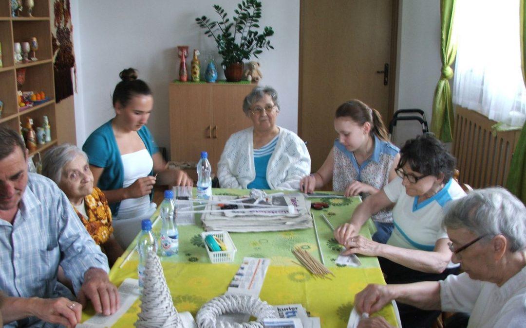 Popołudniowe spotkanie z wolontariatem