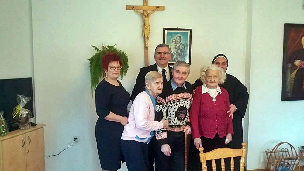 Świąteczne odwiedziny Burmistrza Ryglic